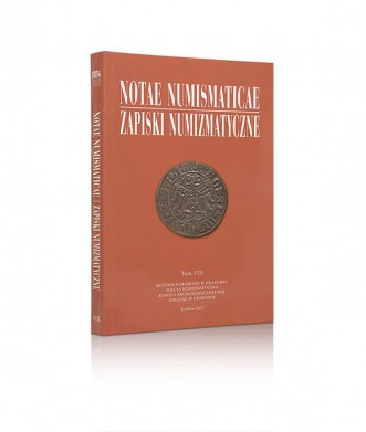 Notae Numismaticae/Zapiski Numizmatyczne, tom VIII