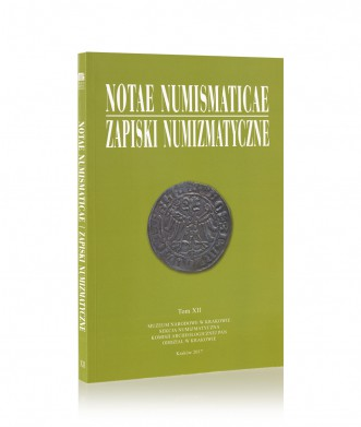 Notae Numismaticae/Zapiski Numizmatyczne, tom XII